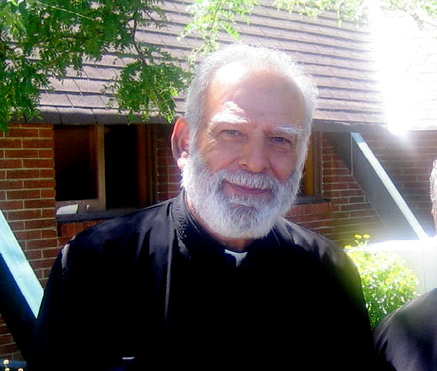 Fr. Charalambos Elles  letter with Thanks to Mr. Goudas,