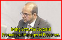 Irving Soto, the Sectorial Promotional Manager of Procomer.