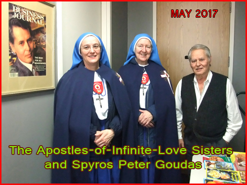 Spyros Peter Goudas You have been so generous and kind, not only to us, but also to so many other worthy causes.  We could not begin to count the gifts of beans, rice, canned goods that we have received so graciously from you for the past 30 years.