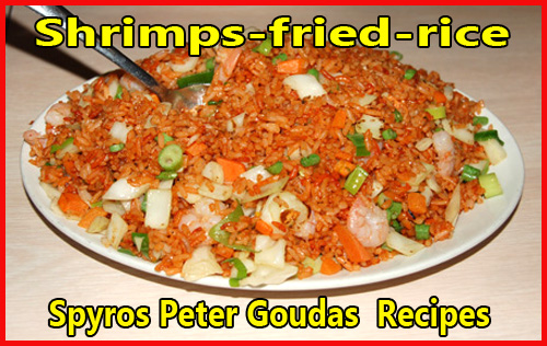 Shrimp-fried-rice Spyros Peter Goudas  Recipes
