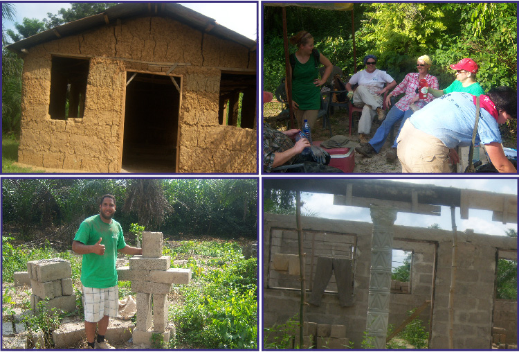 PANOS GOUDAS IN Housing construction with the Canadian group IN GHANA AFRICA
