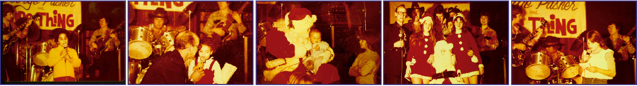 Each Christmas, Spyros Peter Goudas gave a free  party for all nationalities of children in the club and Willy dressed up as Santa Claus and entertained all the children.