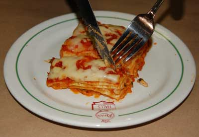 Peter  Rugiano, the Chef, did not settle with simply the Banquet Hall or even the Television program, he has expanded to manufacturing and production of frozen Lasagna, Canelloni, Penne al Forno among others.